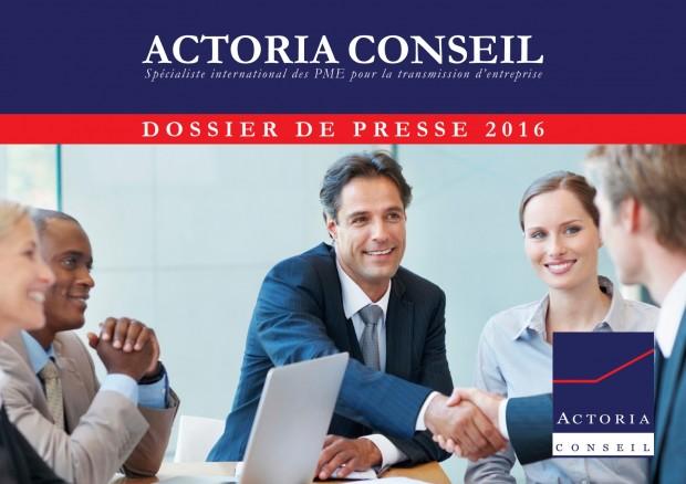 Dossier de Presse Actoria 2016